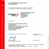 ISO 19600 CM Compliance Management Rhomberg Sersa Rail Group